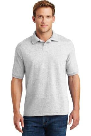 054X hanes ecosmart-52-ounce jersey knit sport shirt