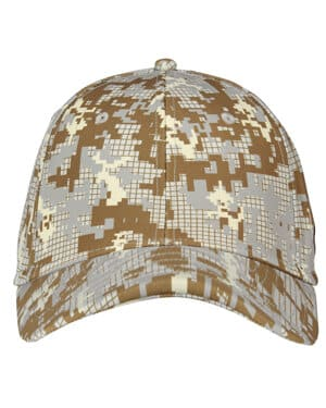 1285134 Under armour curved bill cap-digi camou