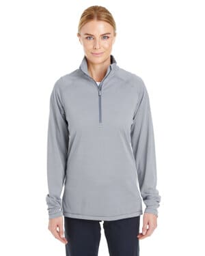 1289408 Under armour ladies' tech stripe quarter zip