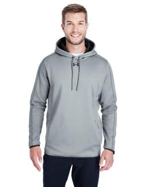1295286 Under armour men's double threat armour fleece hoodie