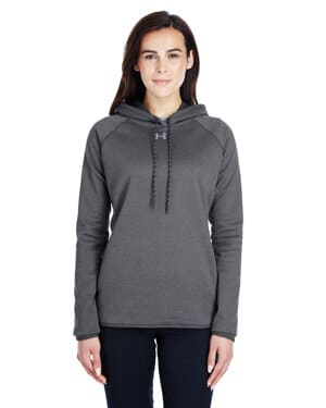 1295300 Under armour ladies' double threat armour fleece hoodie