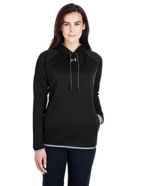 1295300 Under armour ladies' double threat armour fleece hoodie