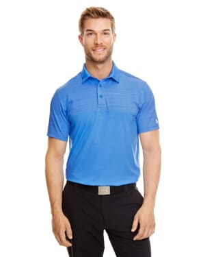 1300133 Under armour men's ua playoff block polo