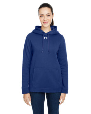 Under armour 1300261 ladies hustle pullover hooded sweatshirt