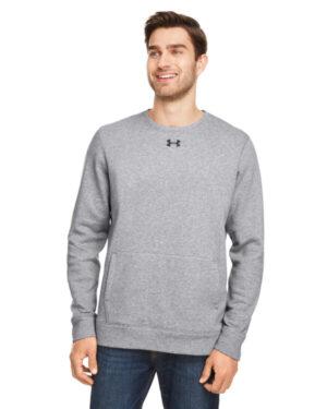 Under armour 1302159 men's hustle fleece crewneck sweatshirt