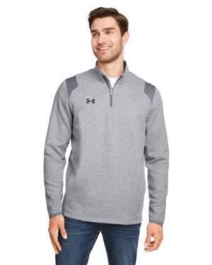 1310071 men's hustle quarter-zip pullover sweatshirt