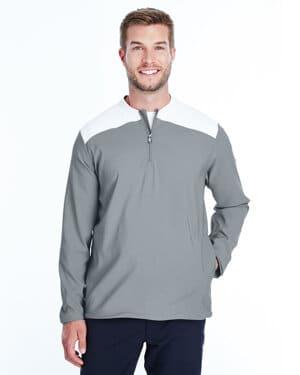 1317220 Under armour men's corporate triumph cage quarter-zip pullover