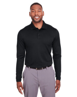 1343090 mens corporate long-sleeve performance polo