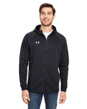 Under armour 1351313 men's hustle full-zip hooded sweatshirt