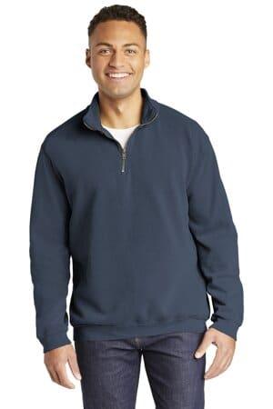 1580 comfort colors ring spun 1/4-zip sweatshirt