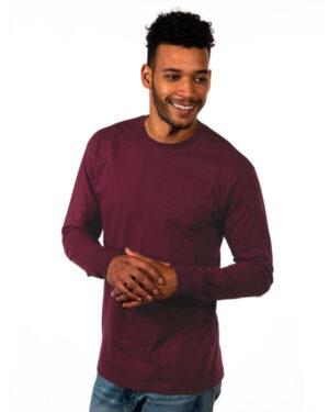 1801NL unisex ideal heavyweight long-sleeve t-shirt