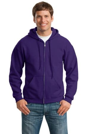 18600 gildan-heavy blend full-zip hooded sweatshirt