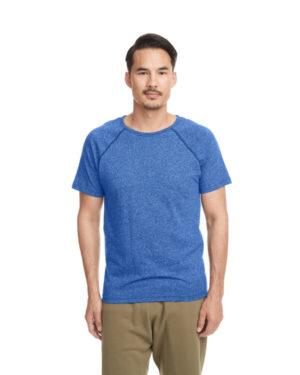 Next level 2050 men's mock twist raglan t-shirt