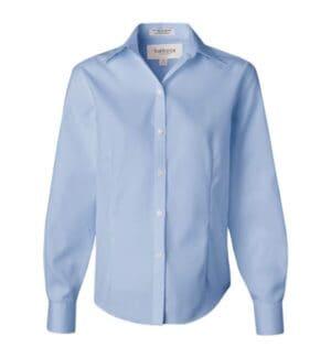 13V0144 Van heusen women's non-iron pinpoint oxford shirt