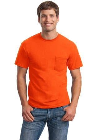 2300 gildan-ultra cotton 100% cotton t-shirt with pocket