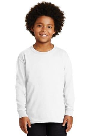 2400B gildan-youth ultra cotton long sleeve t-shirt