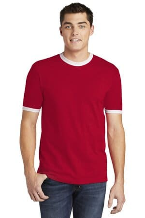2410W american apparel fine jersey ringer t-shirt