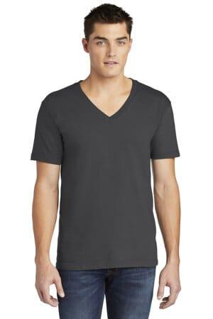 2456W american apparel fine jersey v-neck t-shirt