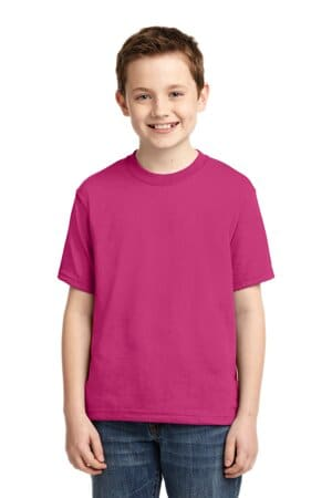 jerzees-youth dri-power 50/50 cotton/poly t-shirt 29b