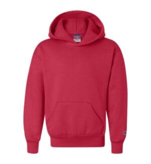 S790 Champion double dry eco youth hooded sweatshirt