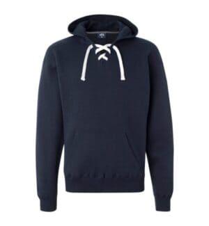 8830 J america sport lace hooded sweatshirt