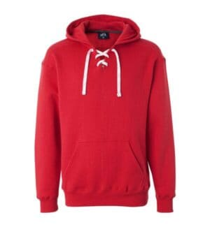 8830 J america sport lace hooded sweatshirt