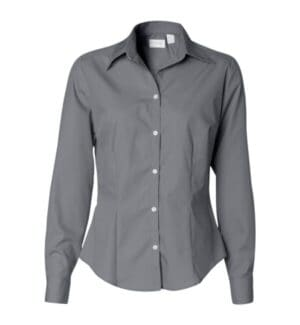 13V0114 Van heusen women's silky poplin shirt