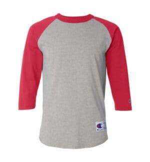 T137 Champion three-quarter raglan sleeve baseball t-shirt