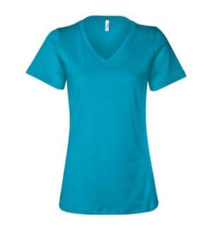 6405 Bella  canvas womens relaxed jersey v-neck tee