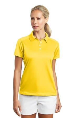 nike ladies dri-fit pebble texture polo 354064