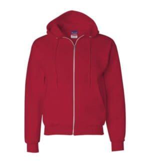 S800 Champion double dry eco full-zip hooded sweatshirt