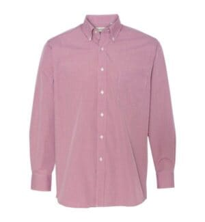 13V0225 Van heusen gingham check shirt