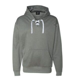 8833 J america sport lace polyester fleece hooded sweatshirt