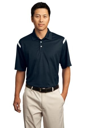 nike dri-fit shoulder stripe polo 402394