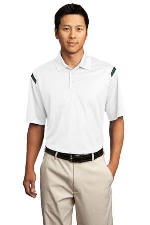 nike dri-fit shoulder stripe polo 402394