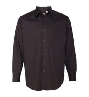 13V0214 Van heusen broadcloth long sleeve shirt