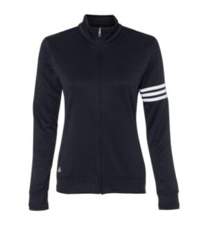 women's climalite 3-stripes french terry full-zip jacket