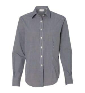 13V0226 Van heusen women's gingham check shirt