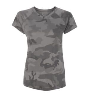 CW23 Champion double dry women's v-neck performance t-shirt