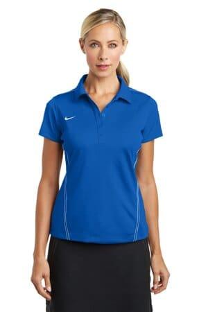 nike ladies dri-fit sport swoosh pique polo 452885