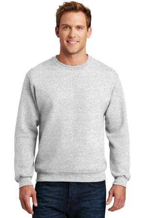 jerzees super sweats nublend-crewneck sweatshirt 4662m