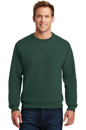 jerzees super sweats nublend-crewneck sweatshirt 4662m