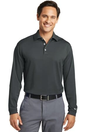 nike long sleeve dri-fit stretch tech polo 466364