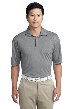 nike dri-fit heather polo 474231