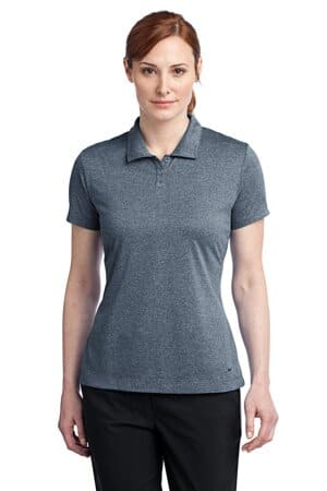 nike ladies dri-fit heather polo 474455