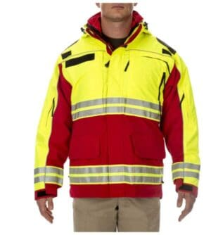 48073T 511 tactical responder high-visibility parka
