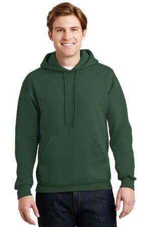 jerzees super sweats nublend-pullover hooded sweatshirt 4997m