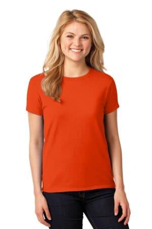 5000L gildan ladies heavy cotton 100% cotton t-shirt