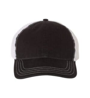 111 Richardson garment-washed trucker cap