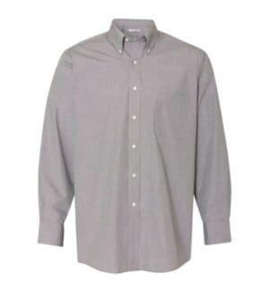 13V0426 Van heusen yarn dyed mini check long sleeve shirt